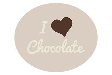 Afbeelding voor categorie I love chocolate