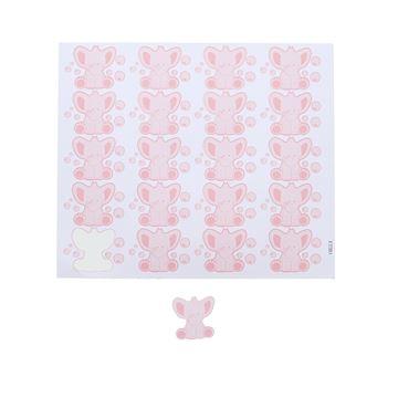 Sticker blinkend olifant Bobar KM roze