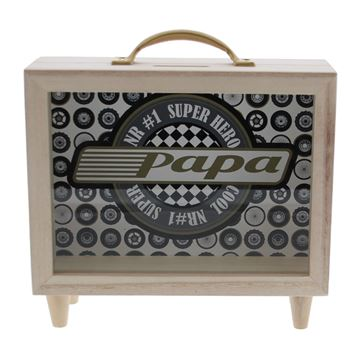 Wheelie TV-spaarpot papa GM