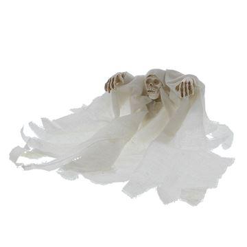 Spook met stoffen jurk KM