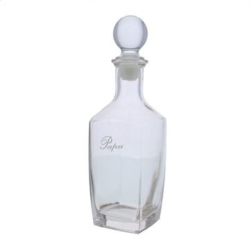 Glazen fles Sterling 700ml Papa