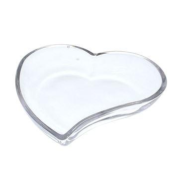 Glazen schaal hart GM