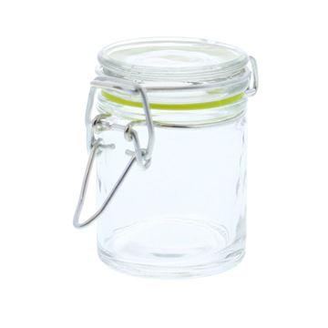 Cylinder ijzersluiting transparant KM lemon