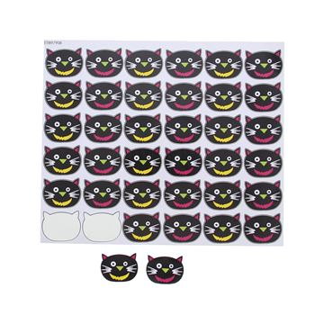 Sticker blinkend kat Mina KM