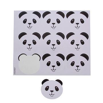 Sticker blinkend panda Barry GM