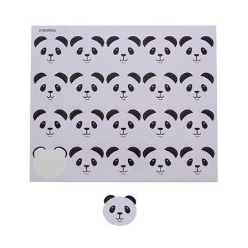 Sticker blinkend panda Barry KM