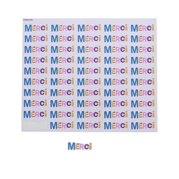 Sticker blinkend Spot merci KM