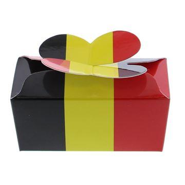 Doos vlindersluiting 2 pralines Belgium
