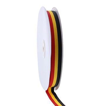 Lint Belgische vlag 15 mm x 50 m 90