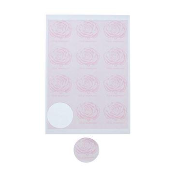 Sticker 6,35 cm Rose Vive maman