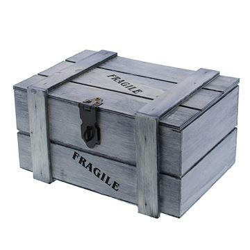 Fragile kist 500 gr. grijs
