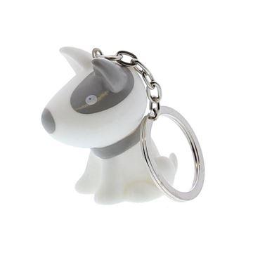 Hond Pitty sleutelhanger cement
