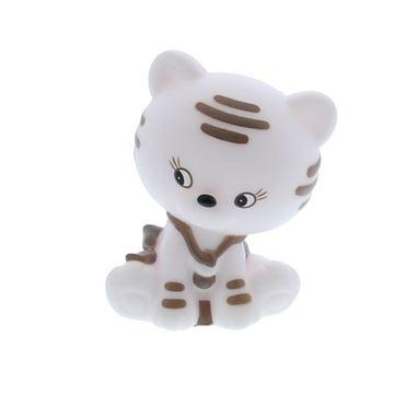Kat Kitty met lichtje wit