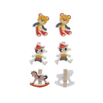 Toys 3 figuren speld