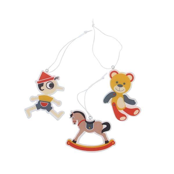 Toys 3 figuren hanger KM