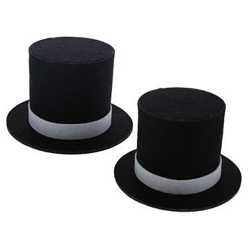 Hoge hoed vilt S/2