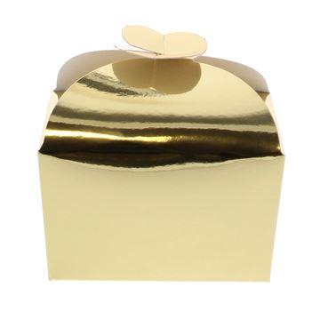 Doos vlindersluiting 250 gr. goud