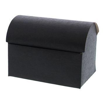 Seta piraatkoffer 250 gr. zwart