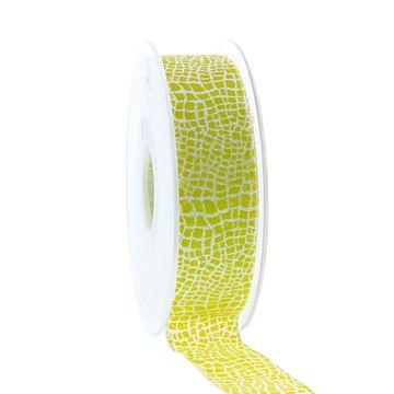 Lint Reptile 25 mm x 20 m lemon kleur 1817