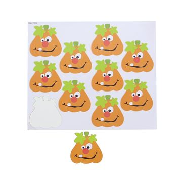 Sticker blinkend pompoen Toothy GM