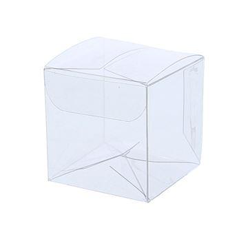 PVC kubus 4 x 4 x 4 cm         Z112