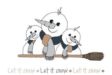 Image de la catégorie Bonhomme de neige Broomy