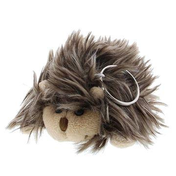 Egel Hairy 11cm sleutelhanger