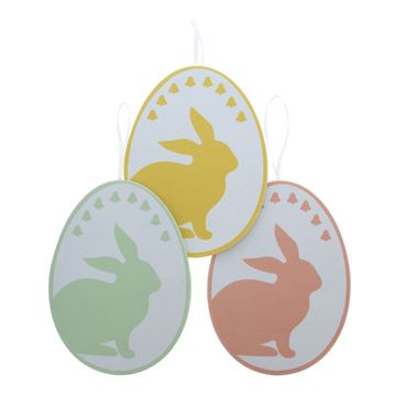 Dotty Bunny deco hanger GM