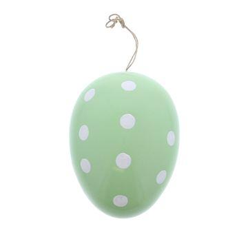 Dotty Bunny ei deco hanger plastiek GM groen