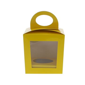 Ballotoeuf A ei 13cm + eisokkel geel