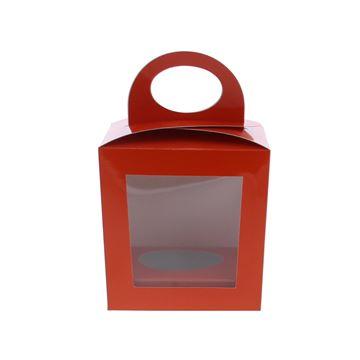 Ballotoeuf A ei 13cm + eisokkel donker oranje