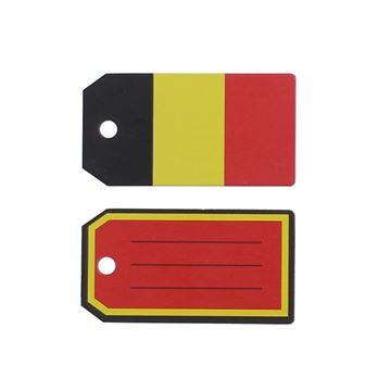Label Belgische kleuren KM