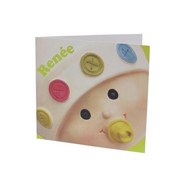 Gratis geboortekaart baby Doedoe FR