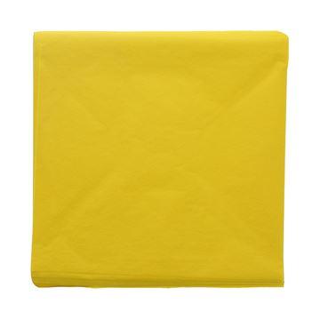 Zijdepapier 25 x 25 geel 05