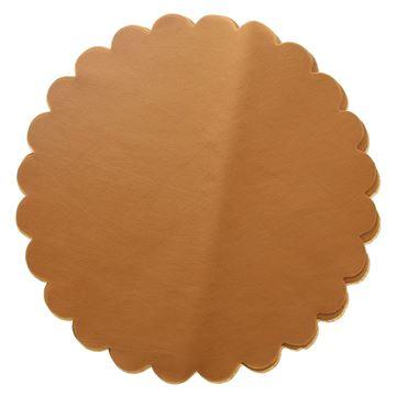 Bricotex 48cm rond cognac  805  G02