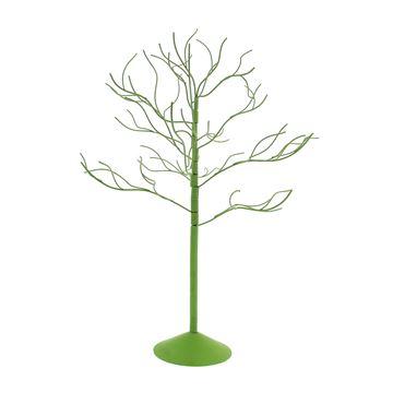 Metalen boom licht groen