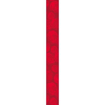 OB Banner Rose 25 x 245 cm rood
