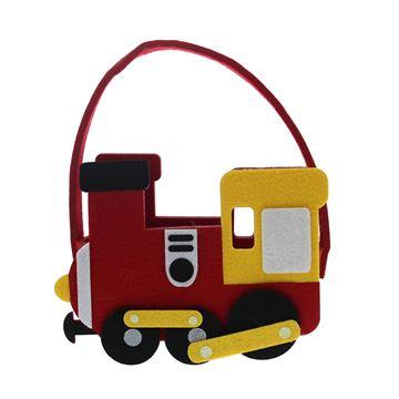 Toys vilten trein mand met oor GM