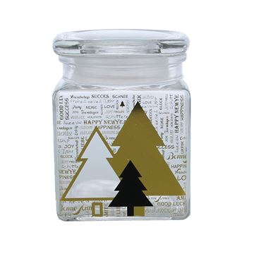 Pines vierkante bokaal medium