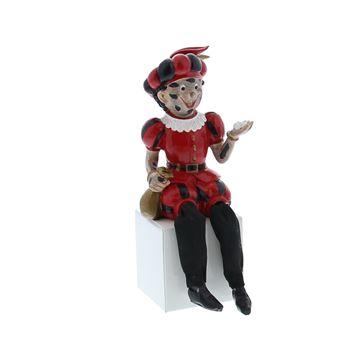 Zwarte Piet Roetpiet zittend slappe benen