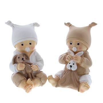Baby Bybo met knuffel spaarpot
