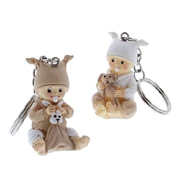 Baby Bybo met knuffel sleutelhanger