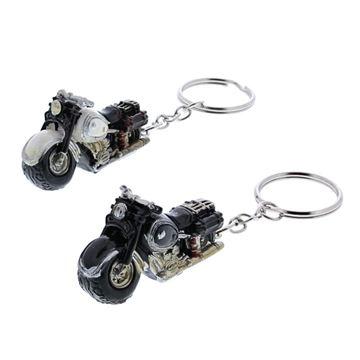 Custom moto sleutelhanger
