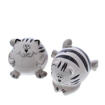 Kat Stripes peper & zout