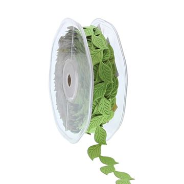 Sticky leaves 21mmx10y licht groen 605