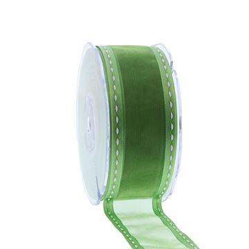 Lint border 38mmx20m groen 604