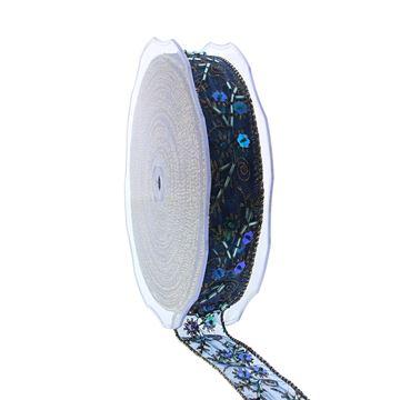 Lint Barok 30mmx20m blauw
