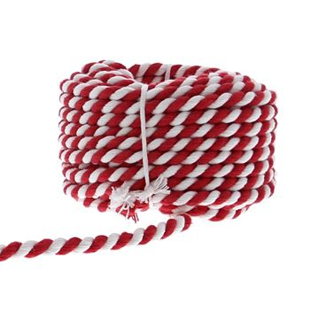 Koord Cotton Twist 6mmx10m kleur 21 rood