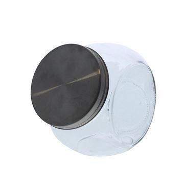 Bokaal metalen schroefdop medium