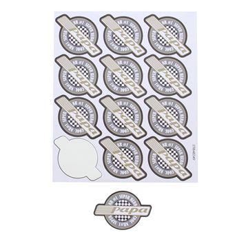 Sticker blinkend Wheelie papa GM